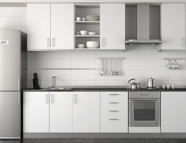 Armário de cozinha planejado com balcão  Decorando Casas # Armario De Cozinha Irmol Orquidea