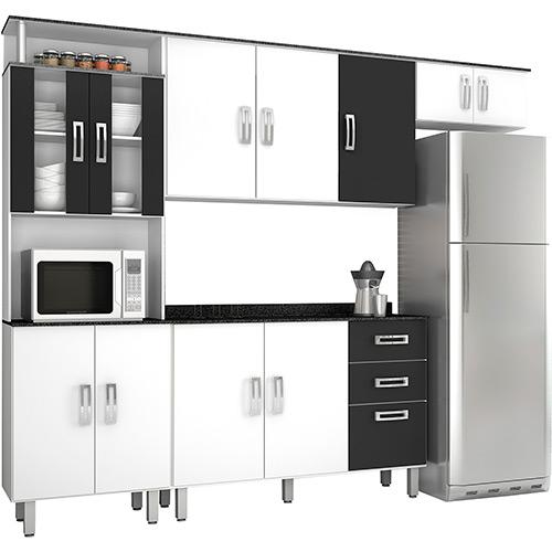 Adesivo De Anticoncepcional Engorda ~ Dicas armários de cozinha preto e branco Decorando C