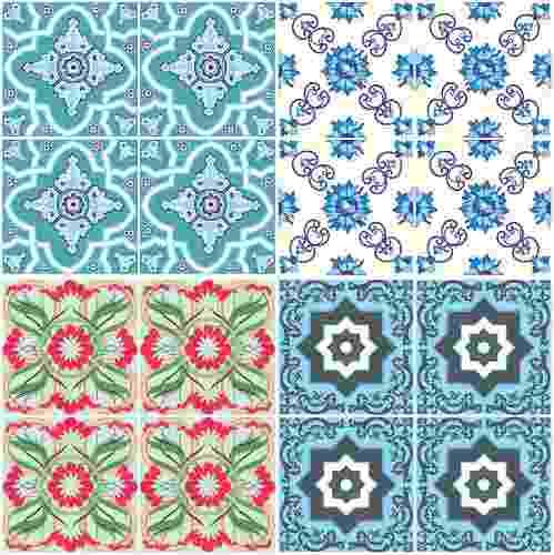 Azulejo para cozinha textura v rios - Azulejo sobre azulejo ...