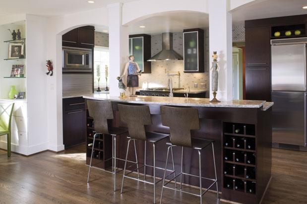 Balcão de cozinha americana com revestimento  Decorando Casas # Bancada Para Cozinha Onde Comprar