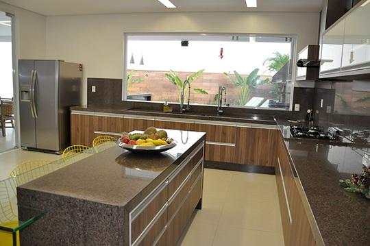 Balcão de cozinha em granito – Fotos   Decorando Casas