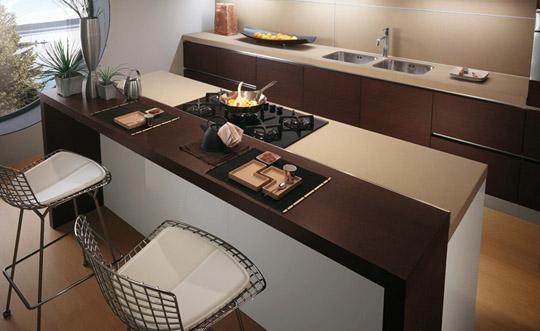 Balcão de cozinha planejado e moderno – Fotos   Decorando Casas