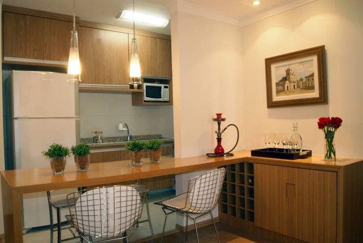 Bancada de cozinha americana em l  Decorando Casas # Cozinha Compacta Em L