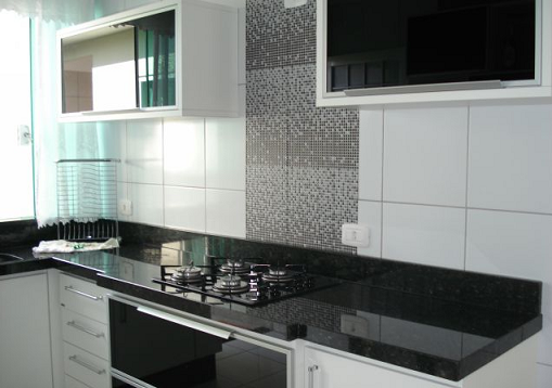 Bancada de cozinha em porcelanato  Decorando Casas # Bancada De Cozinha De Porcelanato