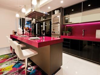 Bancada-cozinha-porcelanato-fotos