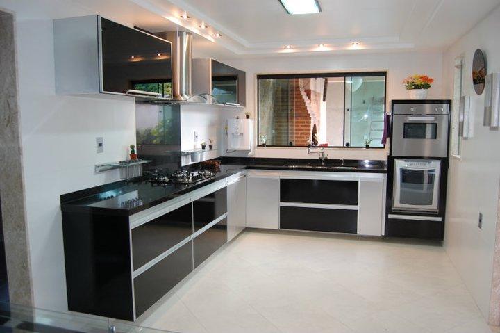 Cozinhas planejadas em l u2013 Dicas e Fotos Decorando Casas