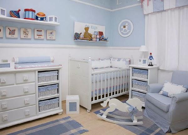 decoracao quadro branco:Decoração quarto bebe masculino
