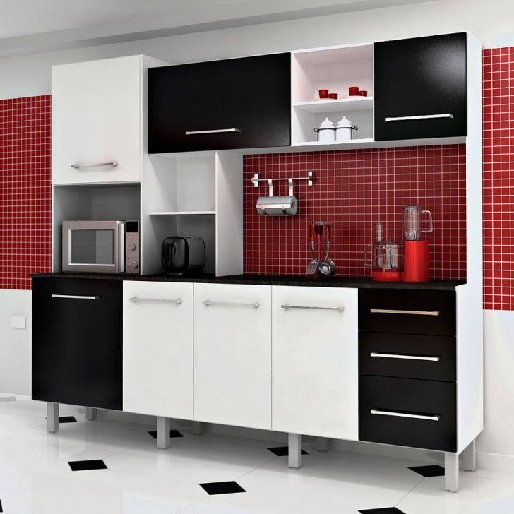 Aparador De Pelos Trimmer Britânia É Bom ~ Dicas armários de cozinha preto e branco Decorando Casas