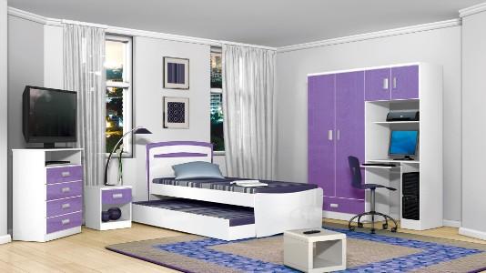 Dicas decoração quarto de solteiro Decorando Casas ~ Jogo De Quarto De Solteiro Usado