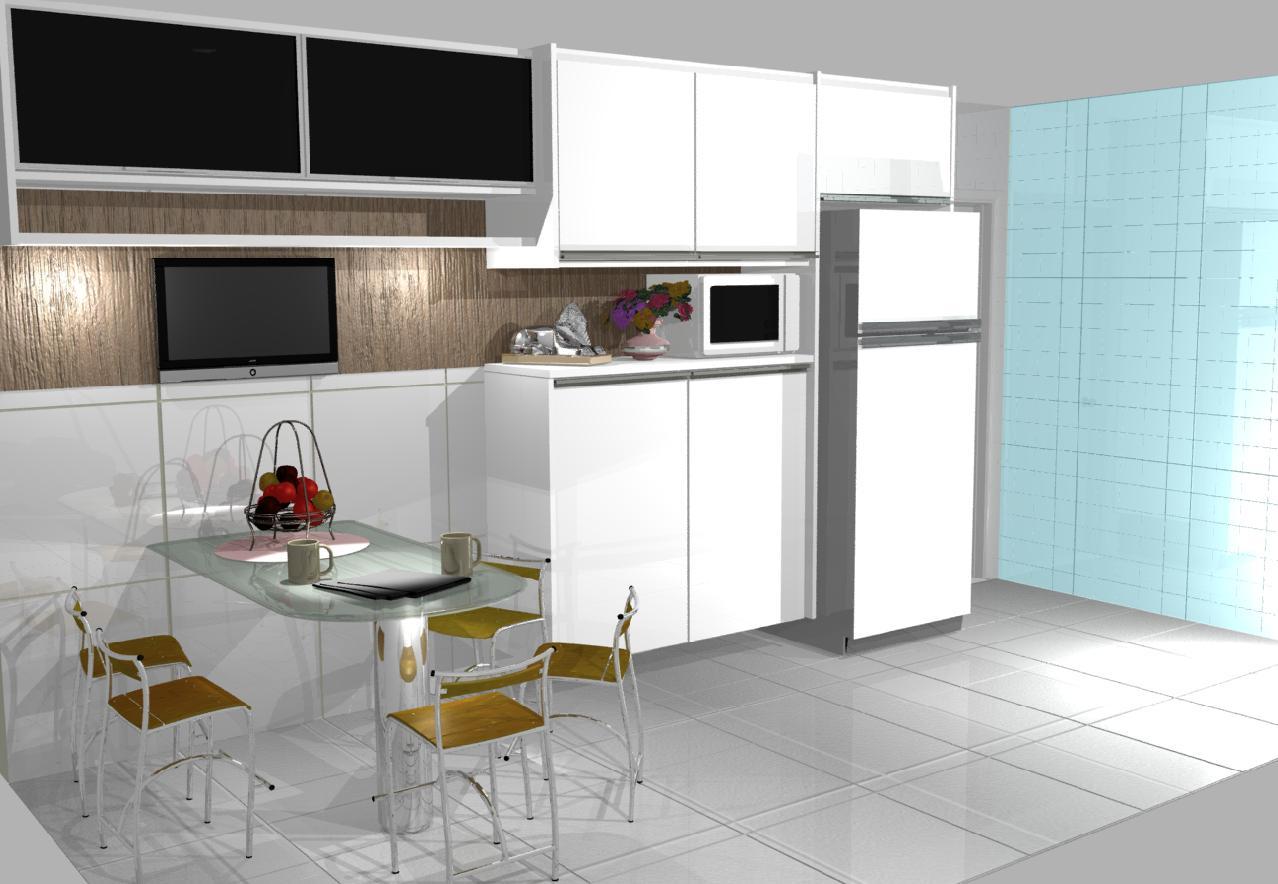 Plantas De Cozinhas Em 3d Decorando Casas