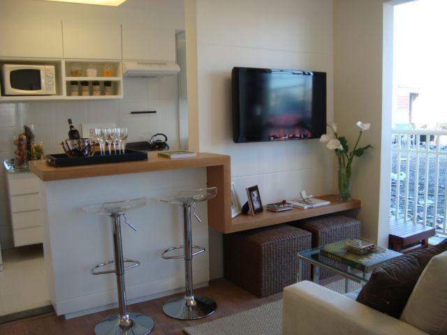Sala-com-cozinha-americana-apartamento-pequeno