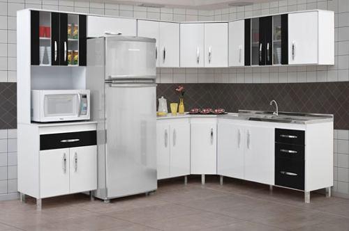 Modelos de armários de canto para cozinha  Decorando Casas # Armario De Cozinha Em Sjc