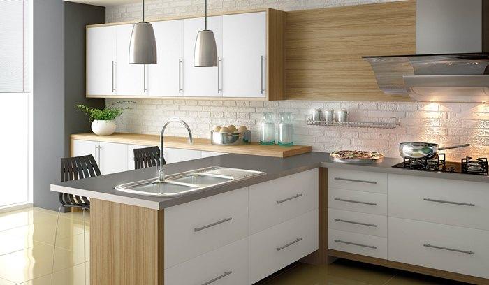 Dicas de armários de cozinha planejados  Decorando Casas # Cozinha Planejada Masisa