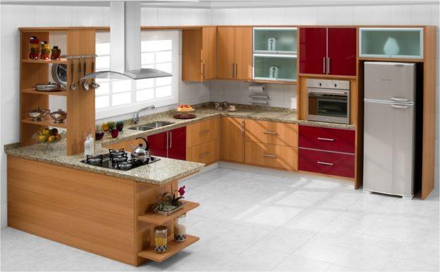 Dicas de armários de cozinha planejados  Decorando Casas # Armario De Cozinha Casas Bahia Rj
