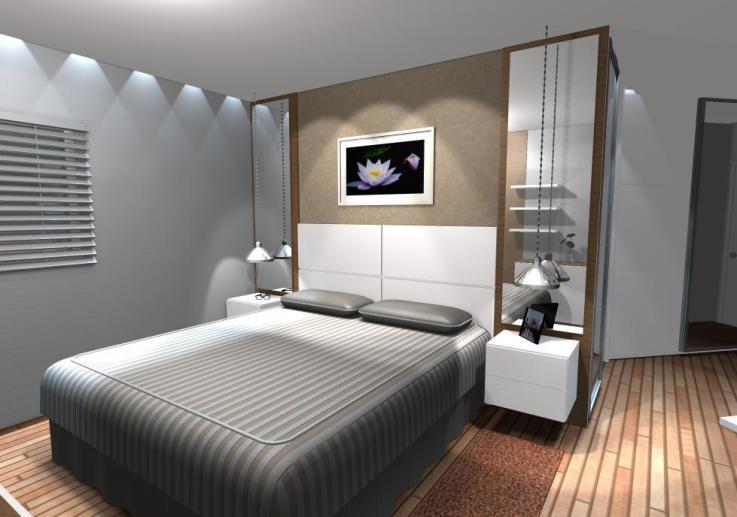 Como organizar quarto de casal pequeno Decorando Casas ~ Quarto Casal Pequeno Como Organizar
