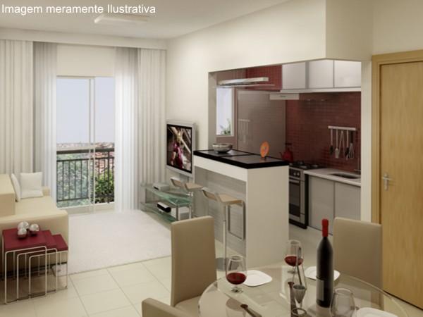 Decoracao Sala Pequena Retro ~ decoracao cozinha pequena apartamentoCozinha americana pequena com