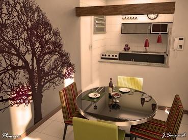 cozinha-americana-pequena-sala-de-jantar