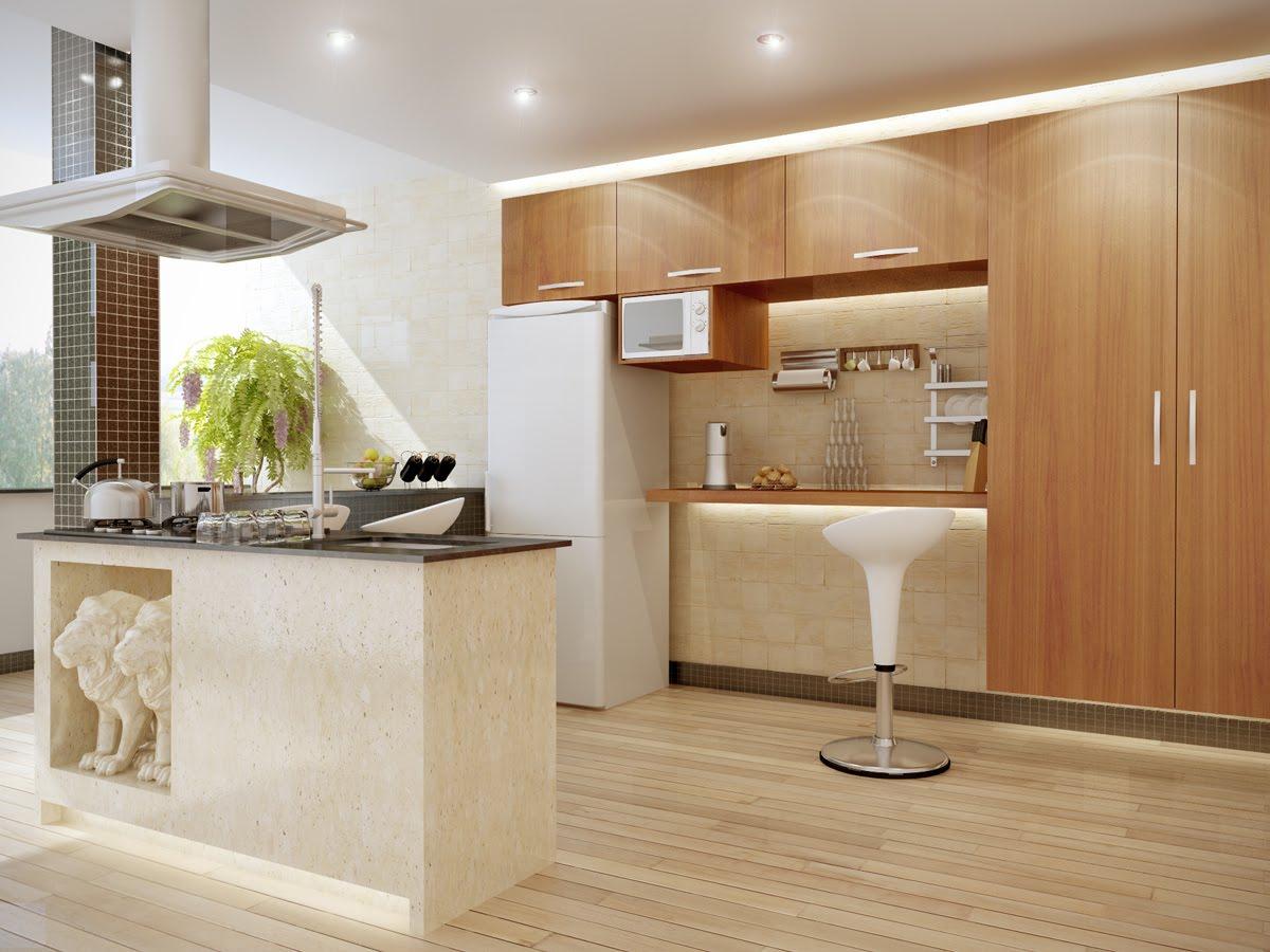 Pisos Para Cozinhas Pequenas E Modernas Decorando Casas