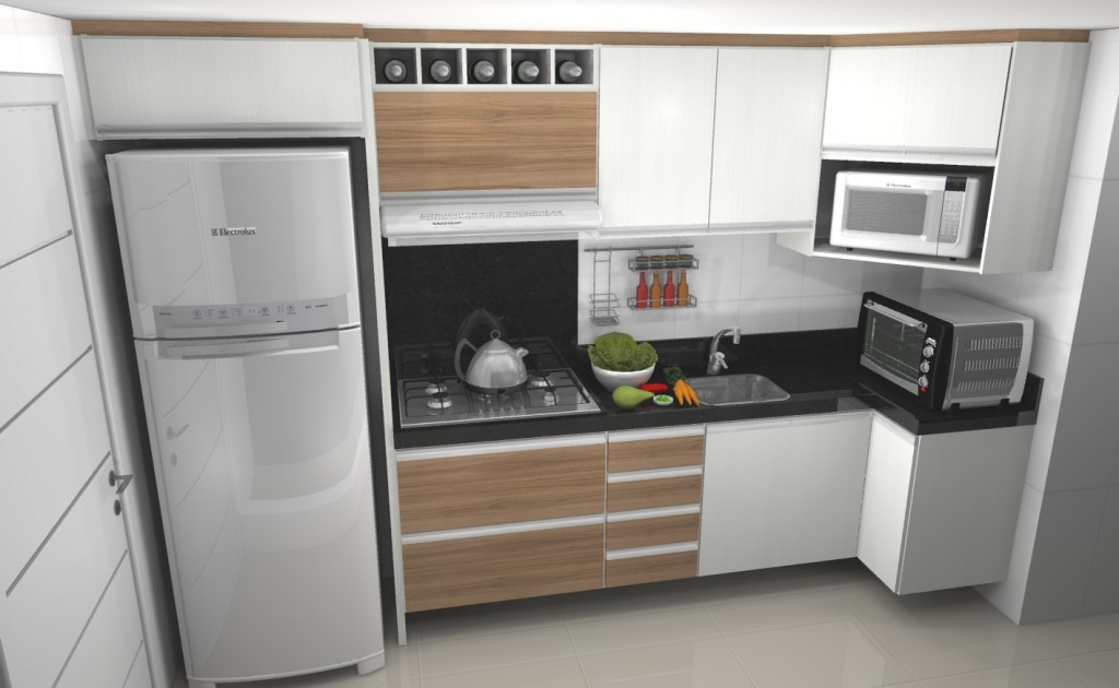 Pias Com Armario Embutido : Arm?rio embutido para cozinha pequena decorando casas