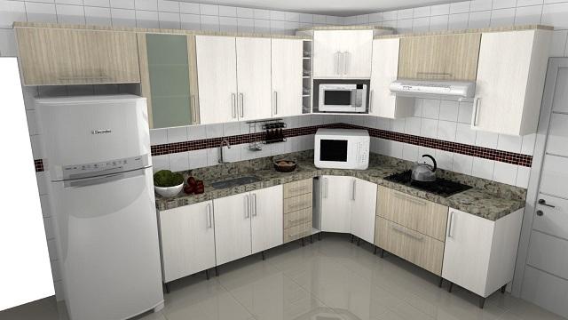 Armario Quarto Porta Correr Tok Stok ~ Armário embutido para cozinha pequena Decorando Casas