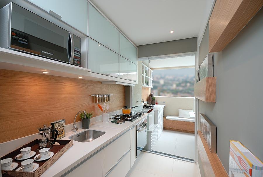 Como decorar cozinha de apartamento decorando casas for Ver apartamentos pequenos