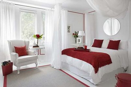 Como decorar o quarto de casal gastando pouco Decorando  ~ Quarto Romantico Solteiro