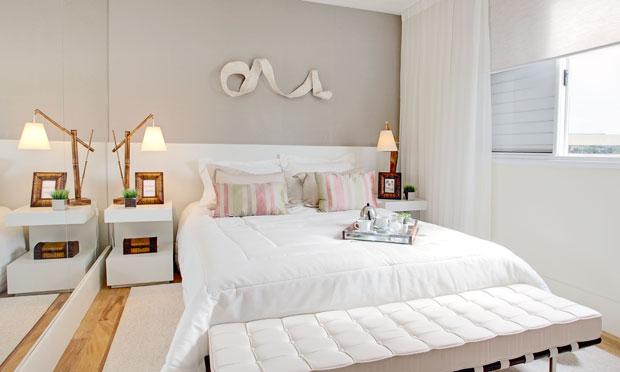 Como decorar o quarto de casal gastando pouco Decorando C -> Como Decorar Quarto De Casal Grande