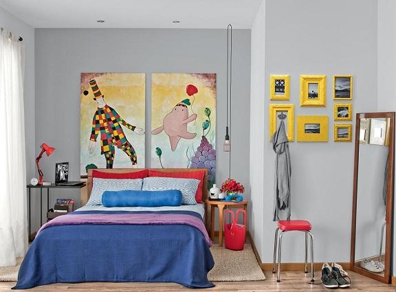 Como decorar o quarto de casal gastando pouco Decorando  ~ Como Decorar Quarto De Casal Pequeno Gastando Pouco