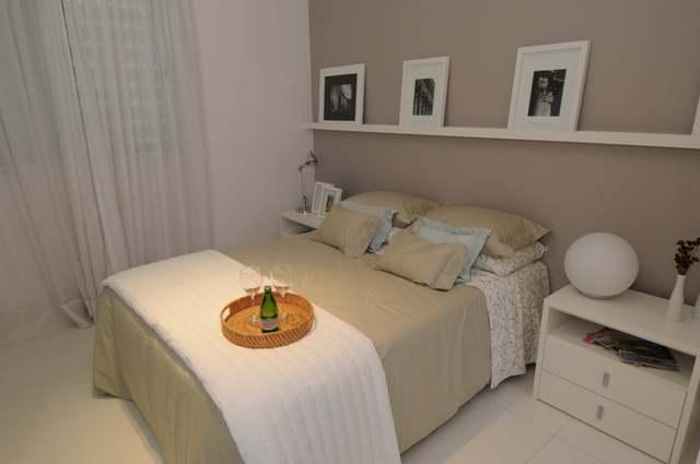Como decorar o quarto de casal gastando pouco Decorando  ~ Quarto Pequeno Para Um Casal De Filhos