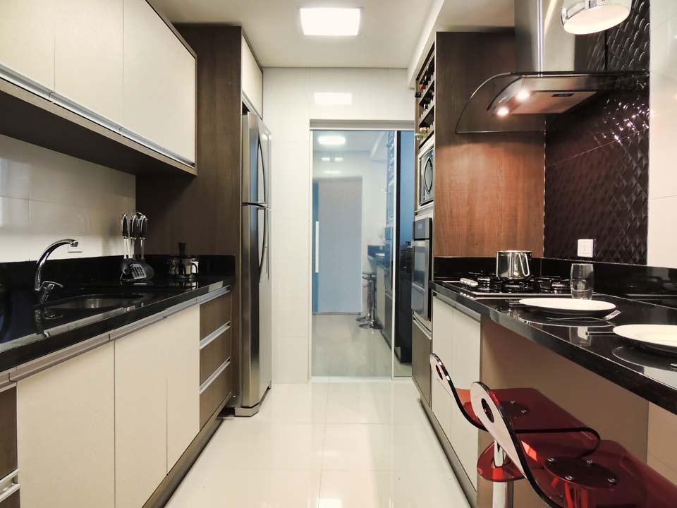 Cozinhas planejadas para apartamentos pequenos decorando for Modelos de apartamentos pequenos