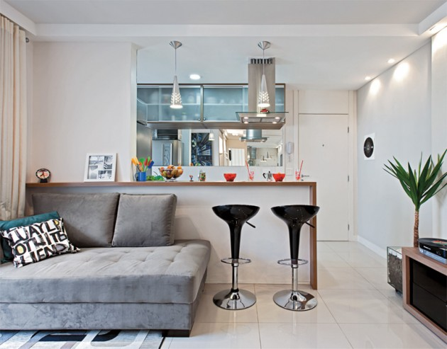 decoracao cozinha pequena simples:Decoracion De Apartamentos Pequenos