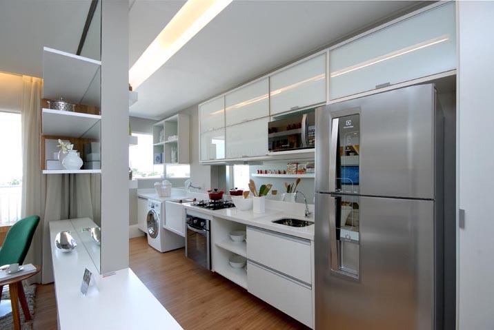 Dicas para decoração da cozinha americana em apartamento  Decorando