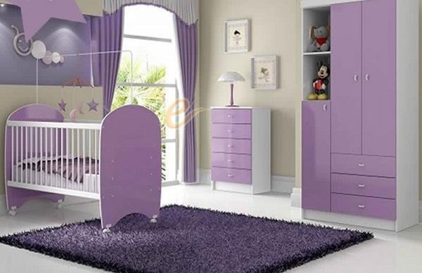 Dicas para decoração do quarto do bebê  Decorando Casas
