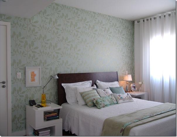 Papel de parede para quartos Decorando Casas