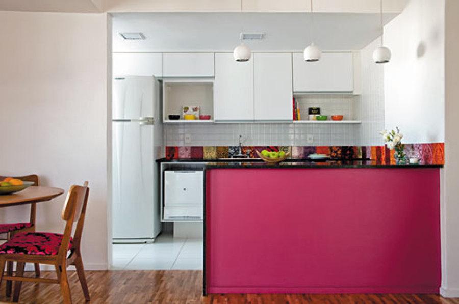 Projetos de cozinhas americanas pequenas decorando casas for Cocinas modernas para apartamentos pequenos