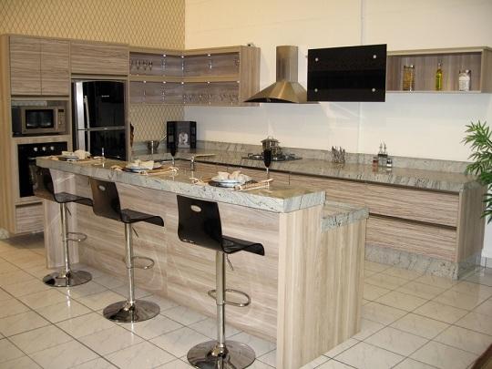 Balcão de cozinha de alvenaria  Decorando Casas # Ilha Cozinha Em Alvenaria