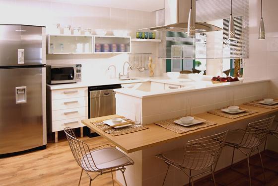 Balc o de cozinha de alvenaria decorando casas - Bancadas de cocina ...