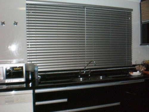 Cortinas de persianas para cozinha decorando casas - Cortinas tipo persianas ...