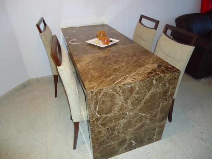 Mesa de granito para cozinha | Decorando Casas