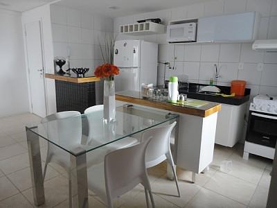 Mesa de vidro para cozinha – Fotos   Decorando Casas