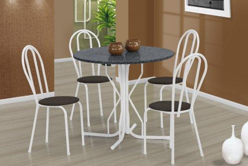 Mesas redondas para cozinha decorando casas for Mesas redondas pequenas