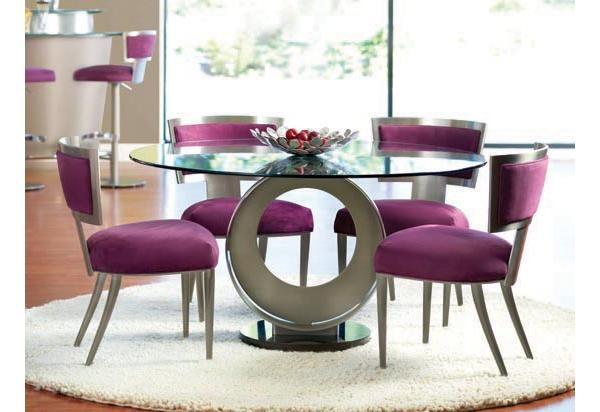 Mesas redondas para cozinha decorando casas - Mesas redondas modernas ...