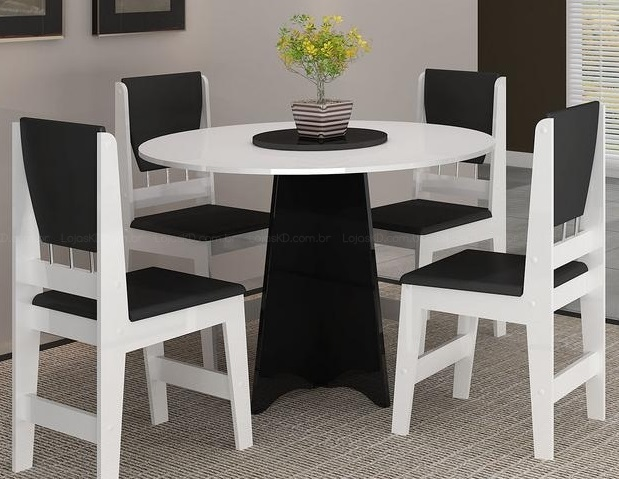 Cozinha pequena mesa redonda id ias do for Mesa redonda para cocina pequena