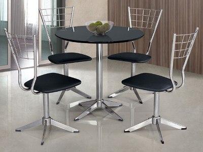 Mesas redondas para cozinha decorando casas - Mesas redondas pequenas ...