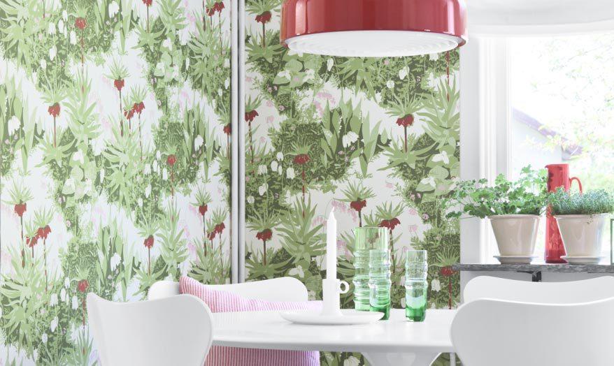 Papel de parede lav vel para cozinha decorando casas - Papel vinilico para cocinas ...
