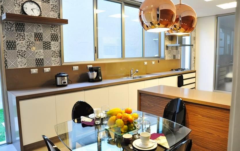 Revestimento de parede da cozinha mosaico decorando casas - Paredes decoradas modernas ...