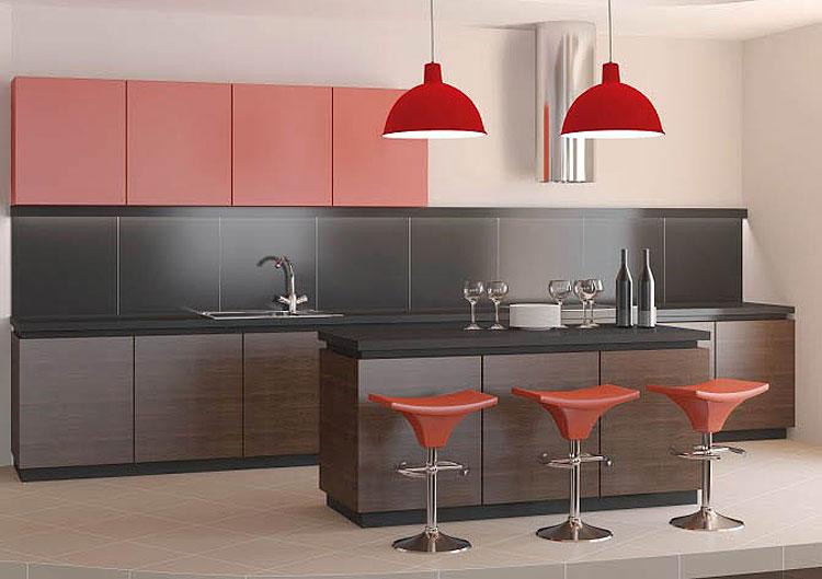 Fotos de lumin?rias coloridas para cozinha: