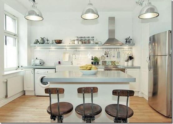 Luminárias Para Cozinha Americana Decorando Casas
