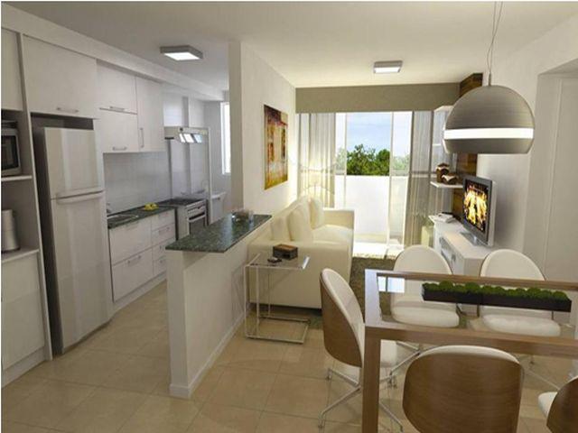 Cozinha Planejada Americana Para Apartamento Pequeno