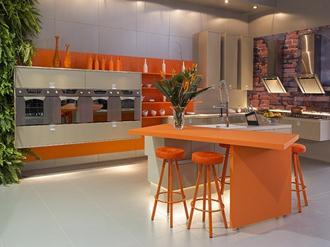 Decoração-cozinha-laranja-fotos